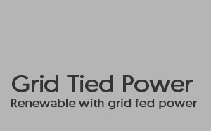 Grid Tied Power